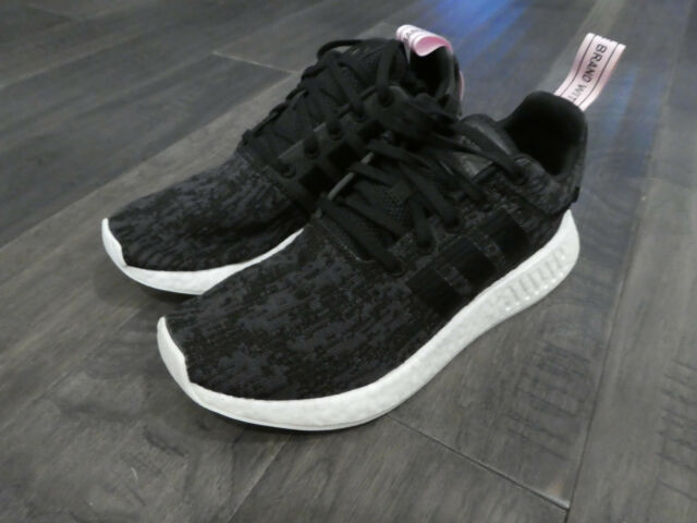 wholesale dealer 3fe07 6e7be adidas Originals NMD R2 W Women Core Black By9314 Boost Size 8.5