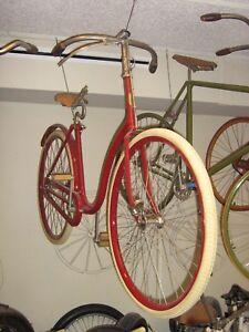 1892 IVER JOHNSON LADIES PNEUMATIC SAFETY ANTIQUE BICYCLE VETERAN