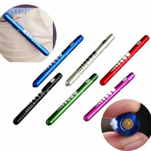 Mini LED Pen Light Medical First Aid Flashlight Torch Doctor Nurse EMT Emergency