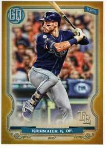 Kevin-Kiermaier-2020-Topps-Gypsy-Queen-5x7-Gold-176-10-Rays