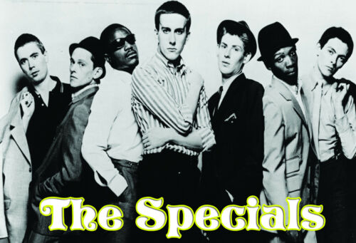 The Specials Music Group PostersConcert Song Celebrity Print #20 A3 Size