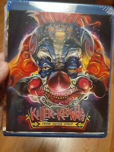 Killer-Klowns-From-Outer-Space-Blu-Ray-2012-Cult-80s-Comedy-Horror-Clowns-NEW