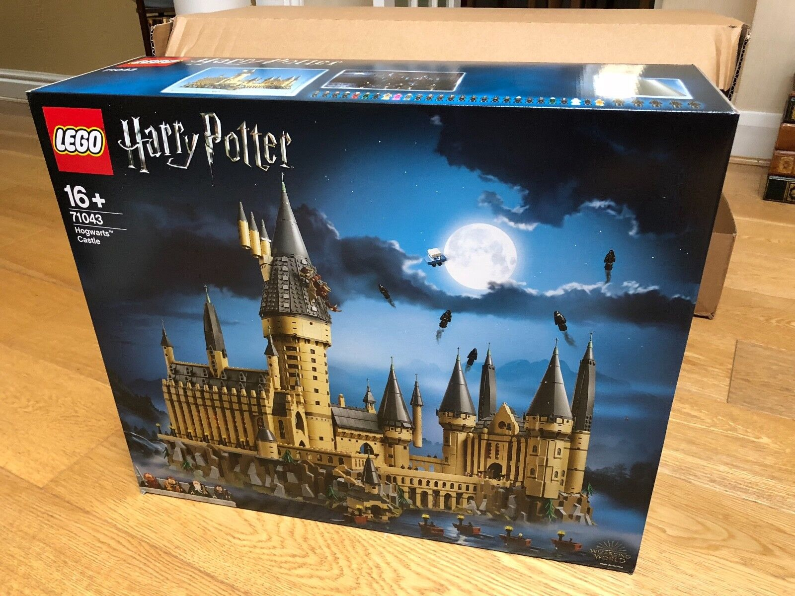 LEGO Harry Potter 71043 Hogwarts Castle, & Nuovo Di Zecca Sigillato-Spedizione in tutto il mondo