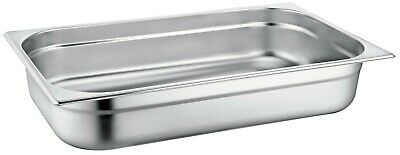 Zodiac Half Size 1//2 High Quality Stainless Steel Gastronorm Containers 1//2 200MM 14.0 LTR