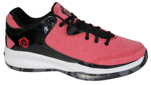 f6e84908b8fba2 Adidas D Rose Englewood III Mens Basketball Trainers Sports Scarlet S84166  WH