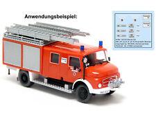 Sondermod Intermodellbau 2020 Brekina 94729 MB LAF 1113 Tanklöscher FW Dortmund