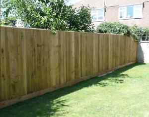Feather Edge Fencing Kit 6ft High Closeboard Choose
