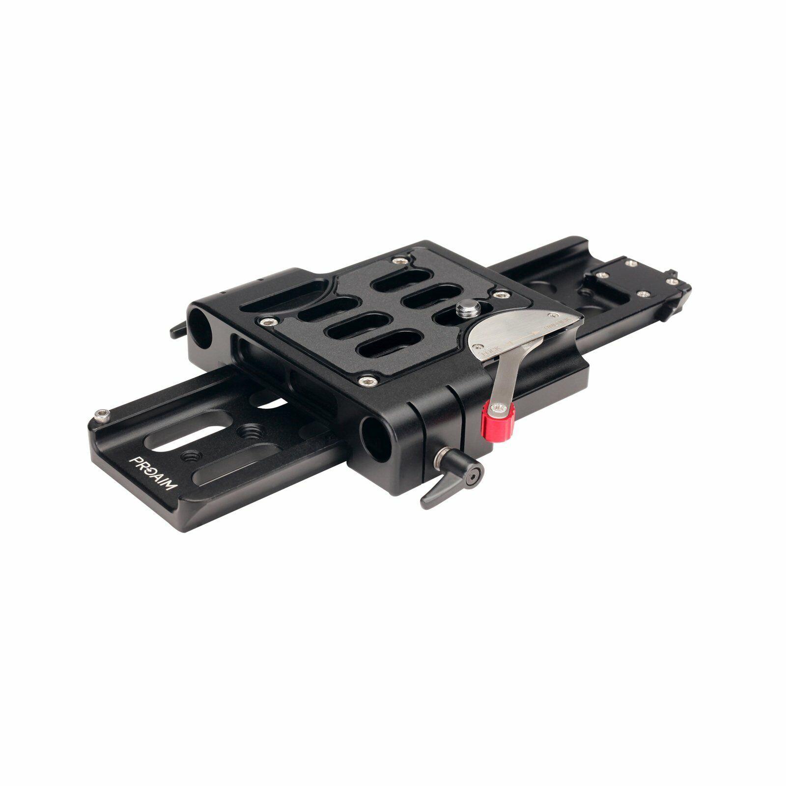 Proaim15mmQuick Release Camera Base Platewith Dovetail(ARRI Standard)(P-BPDP-15)