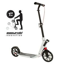ORIGINAL OXELO TOWN 9 EASY FOLD ADULT SCOOTER, WHITE COLOR, 2015 BRAND NEW!