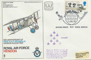 GB 1970 SPECIAL Vol ROYAL AIR FORCE avion sur une sortie de Royal Air Force