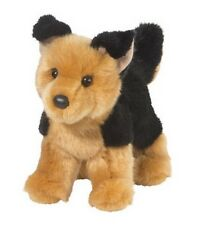 "Douglas Cuddle Toys 10"" Plush RHEA the GERMAN SHEPHERD Dog ~NEW~"