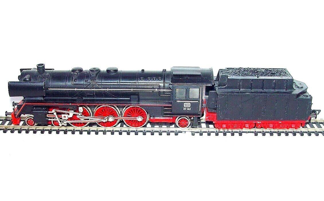 フリスマン・DC HOドイツ語DB BR 09 182蒸気機関車ダイキャスト金属ニース!1975年