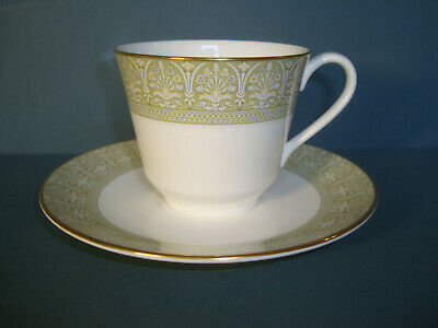 Royal Doulton Sonnet Tea Cup And Saucer Green Stamp Several Avalable Ebay