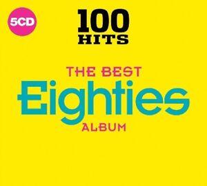 100 HITS-BEST 80'S ALBUM NEW DIGIPACK EDITION,Survivor,Cyndi Lauper 5CD NEU
