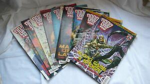 Comic-Collection-Job-Lot-Comics-Judge-Dredd-2000AD-Issues-1301-1310