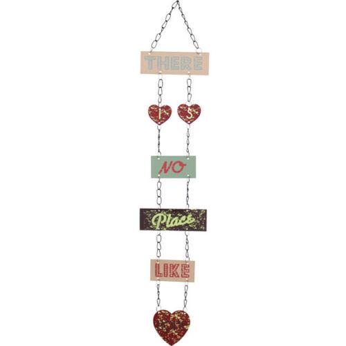 !FREE UK P/&P! Shabby Chic Metal Hanging Signs 4 designs