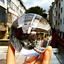 Indexbild 22 - 50/80/100mm K9 Clear Crystal Ball Photography Glass Lens Sphere Ball