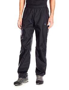 dd21696d66f Image is loading Adidas-black-waterproof-running-sport-track-pants-new-