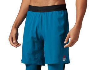 Details about Men's Reebok CrossFit Super Nasty Speed Shorts Sports Training Gym
