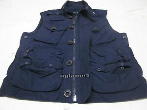 Ralph L Navy Photographer Nwt Fishing About Details Jacket Hunting Outdoor Vest Polo Lauren eIYE2H9WD