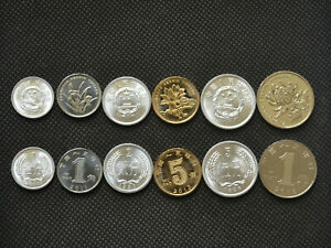 CHINA 1 FEN 2010 UNC LOT 50 COINS = 1 ROLL