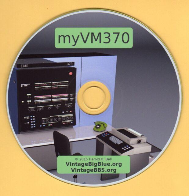 IBM Mainframe on PC-> myVM370 The Original Virtual Machine