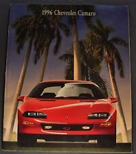 1996 Chevrolet Camaro Catalog Brochure RS Z28 LT1 Excellent Original 96
