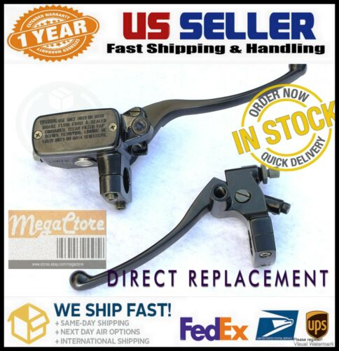 "1/"" Front Brake Master Cylinder /& Clutch Perch VTX1300 Magna 750 VT750 Cruiser VF"