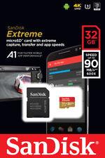 SanDisk 32GB 64GB 128GB 256GB 400GB 512GB 1TB Extreme Micro SD SDHC Card U3 V30