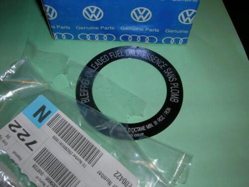 VW Rabbit Cabriolet Jetta NOS Fuel Filler Sticker Gen