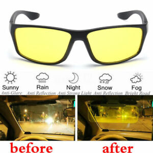 9cd889f48a Image is loading Driver-Night-Driving-Glasses-Anti-Glare-Vision-Safety-