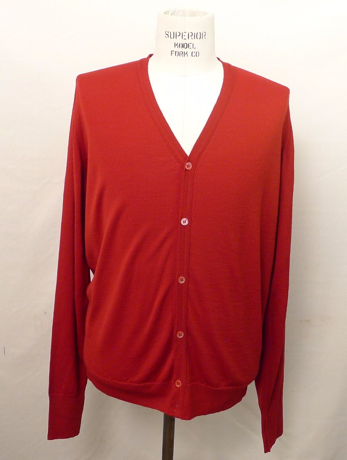 John Smedley Cardigan Sweater Made in England NWT (Groß)