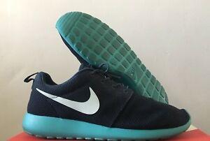 factory authentic 800cb 81ff7 Image is loading OG-RARE-Nike-ROSHE-RUN-SQUADRON-NAVY-BLUE-