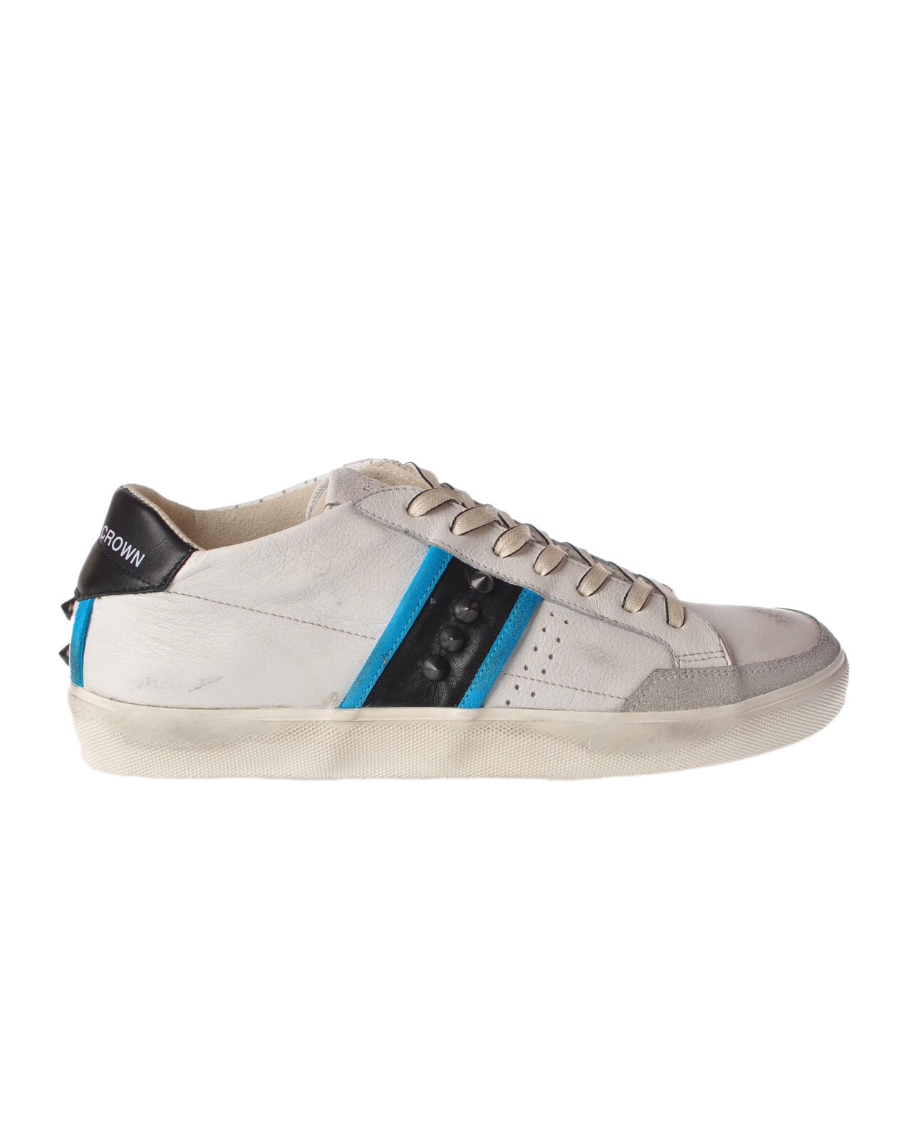 Leather Crown - shoes-Sneakers low - Man - White - 4751722B182753