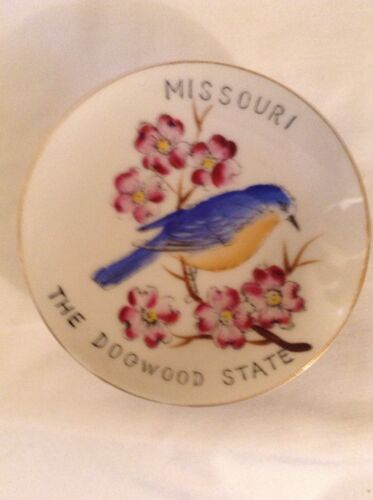 Vintage Missouri THE DOGWOOD STATE Collector/'s Plate