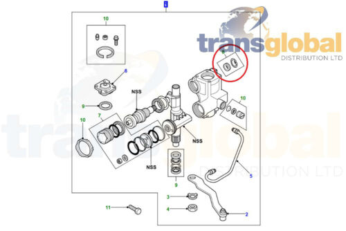 Land Rover Discovery 2 Repair Kit for Power Steering Box QFW100150 Input