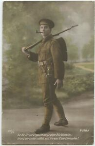 Soldiers-Army-Post-Field-Censor-1916-Kingswear-Devon-WW1-Postcard-2074