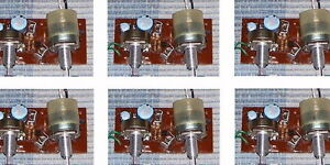6-PCS-LOT-Vintage-4-transistor-mono-stereo-phono-amp-crystal-radio-amplifier