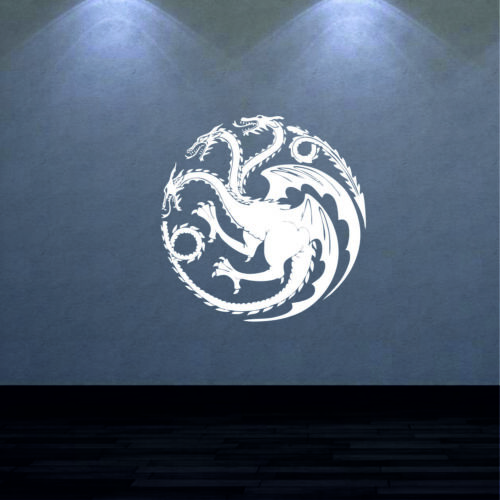 Game of Thrones Wall Stickers Mother Of Dragons Vinyl Big Size