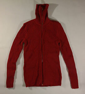 WOMEN'S PS, RED, ZIP UP, TURTLENECK SWEATER BY LIZ CLAIBORNE, NEW ...