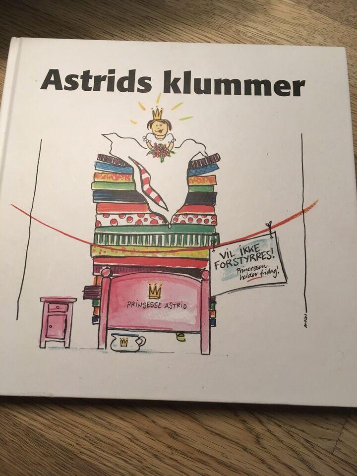 Astrids klummer, Astrid J. Vestergaard, emne:
