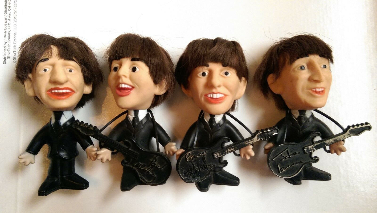 The Beatles Remco Dolls set of 4