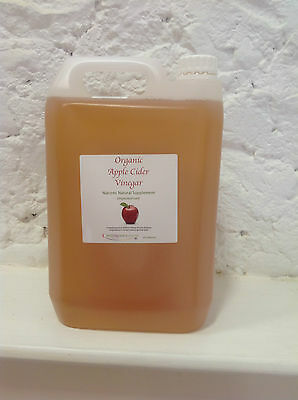 Apple Cider Vinegar 5 litre Organic unpasteurised (H)