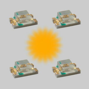 S842-10-Stueck-SMD-Blink-LEDs-0805-orange-blinkend-Blinklicht-Blinksteuerung
