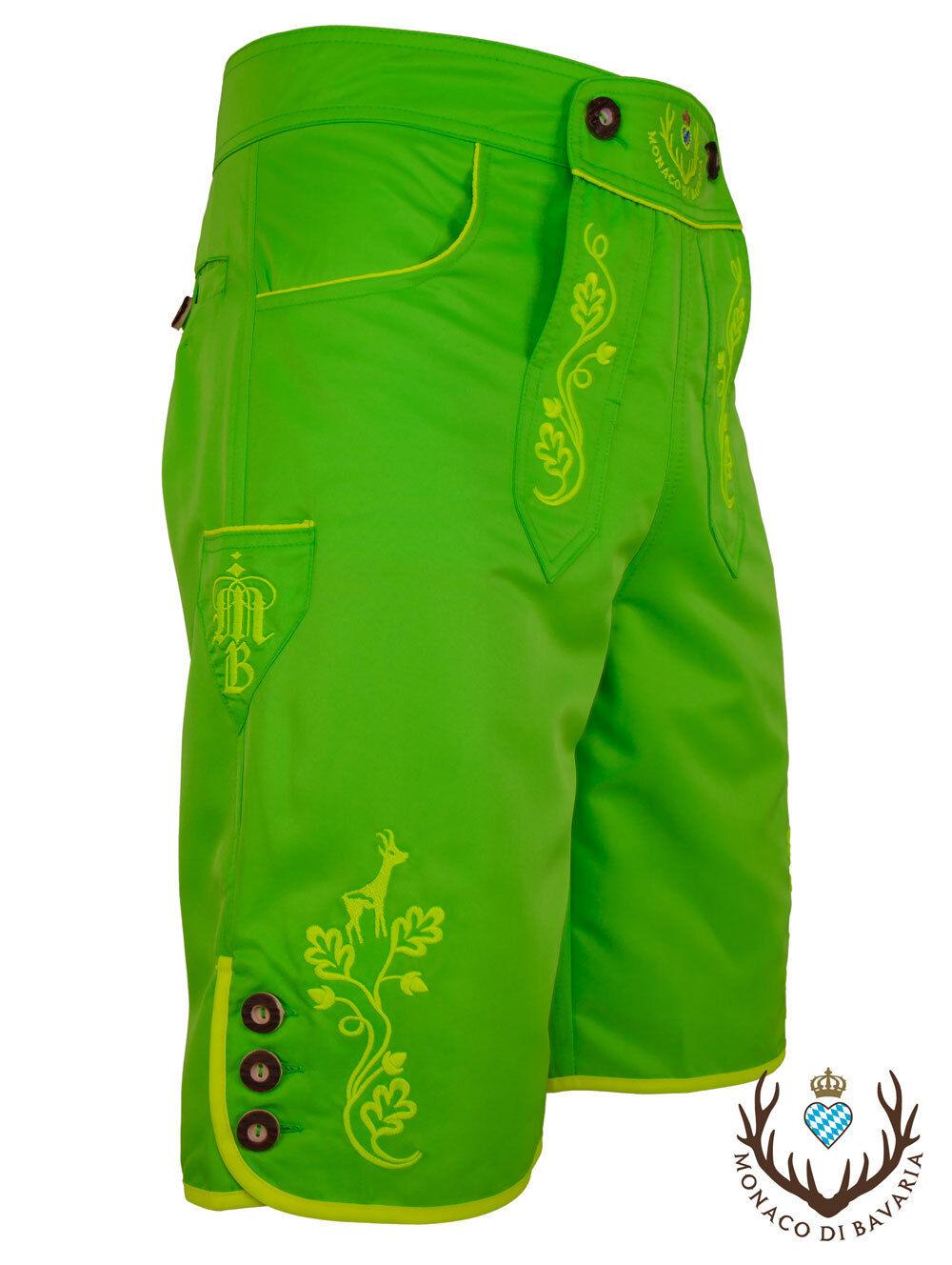 Die Neonfarbene aus Bayern Trachten Badehose Lederbadehose Badelederhose Wiesn  | Moderner Modus  | Gutes Design  | Moderne und stilvolle Mode