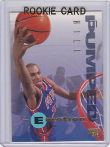 Details About Grant Hill Rookie Card 1994 Skybox E Motion Rc Detroit Pistons Basketball Duke