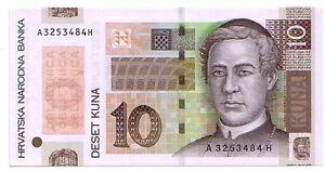 Croazia-10-kuna-2004-FDS-UNC-pick-45-lotto-3319