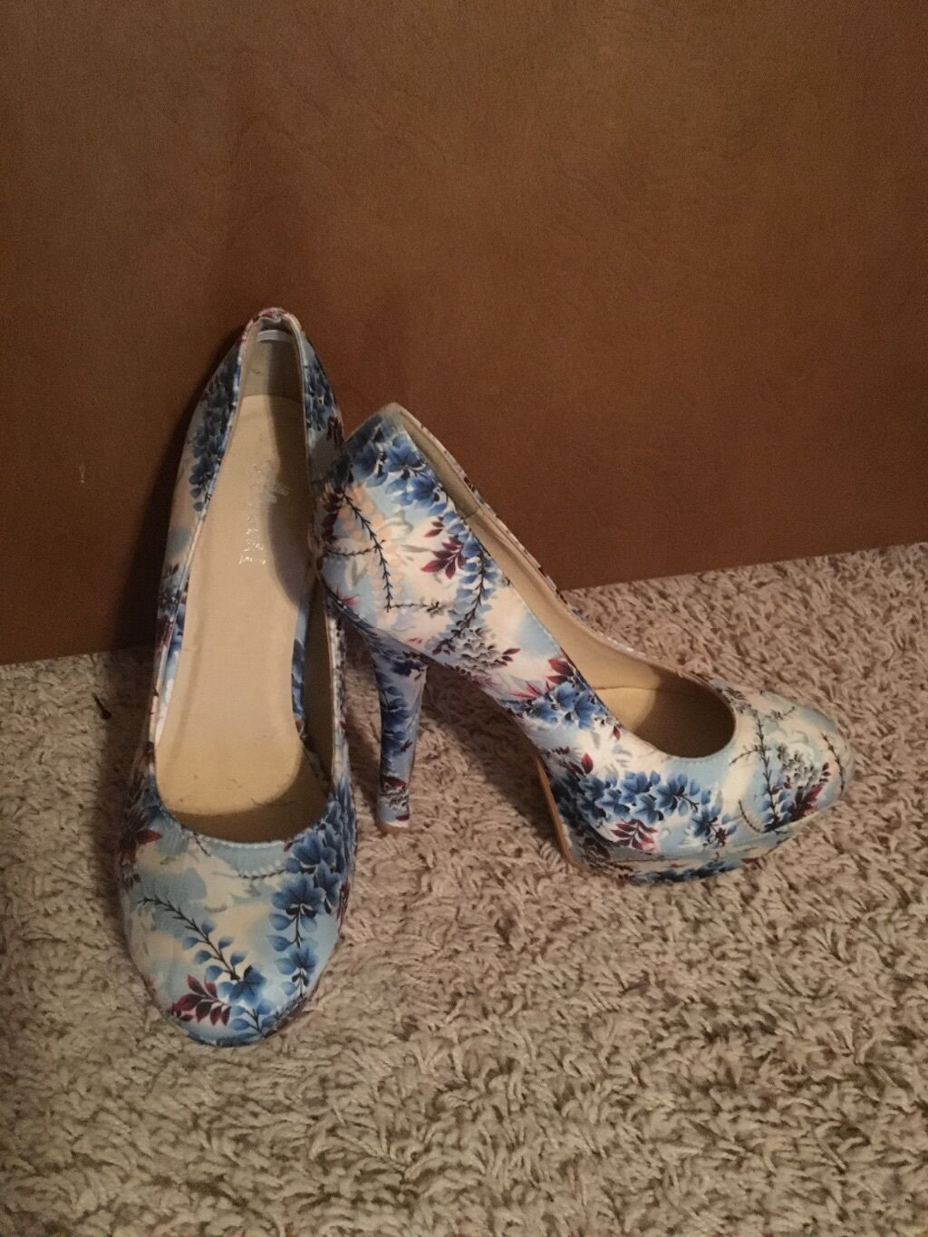 Man's/Woman's High High Heel Floral Prints High Man's/Woman's quality and cheap At a lower price Official website 586432
