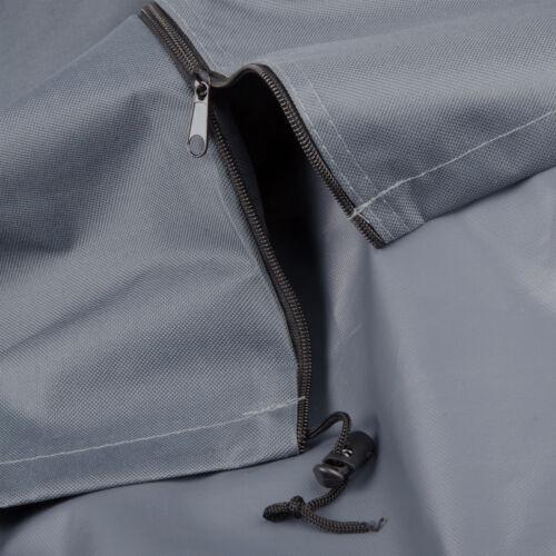 Capot de protection pour parasol de jardin parapluie parasol à 4 M polyester gz1163an