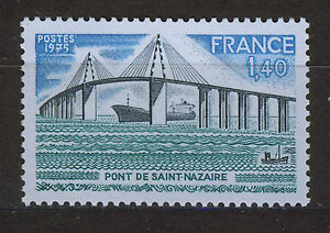 FRANCIA-FRANCE-1975-MNH-SC-1457-Saint-Nazaire-bridge